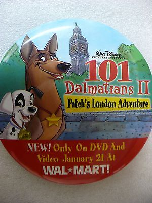 Ob- Disney 101 Dalmatians Ii (Patch's London Adventure) Walmart Pin Badge #25682