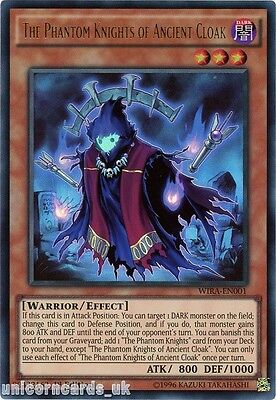 WIRA-EN001 The Phantom Knights of Ancient Cloak Ultra Rare 1st edition Mint YuGi