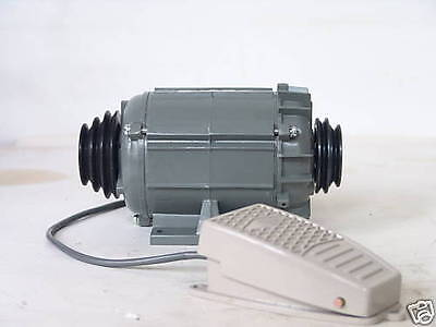 110V Watchmaker Motor with Belt Pulley and FootSwitch
