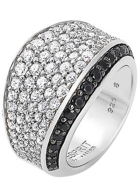 ESPRIT COLLECTION Schmuck Aura Silber-Ring ELRG91823B