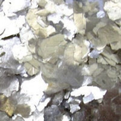 "Pure Metallic Naturals SILVER 1/16"" Additive Flakes"