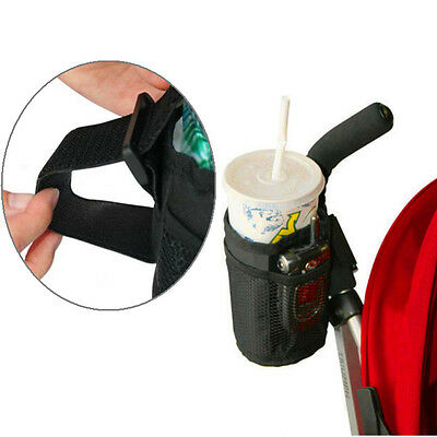 Baby Jogger Stroller Insulated Cup Holder Drink Keys Phone Holder Organizer Bag