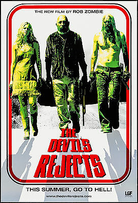 Horror: The Devil's Rejects 2005 Rob Zombie Movie Poster