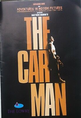 The Car Man Lowry Theatre Programme 2000