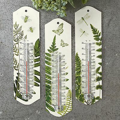 Twos Company Belvedere Fern Wall Thermometer