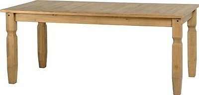 Corona Mexican Waxed Pine 6ft Dining Table