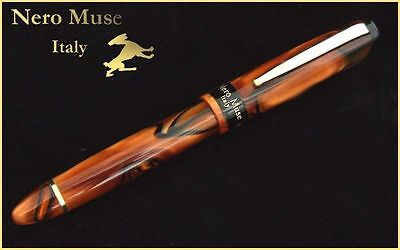 Where your pen is gone! Africa Landscape Fountain Pen Handmade