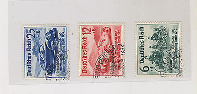 GERMANY,REICH,1939 ,auto expo ovpt set used