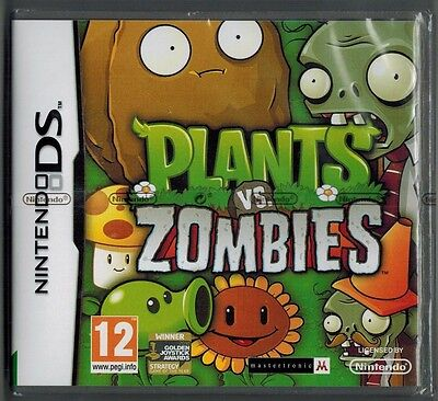 Plants Vs Zombies Ds Game For Ds, Dsl,dsi,3Ds New Sealed
