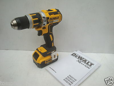 Dewalt Dcd795 Xr Li-Ion 18V Brushless Hammer Drill Bare Unit + Dcb182 Battery