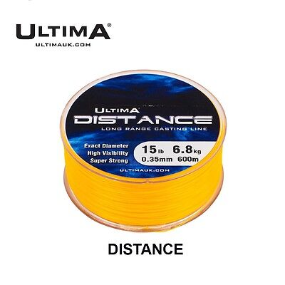 ULTIMA Distance Fishing Line 500m & 600m Spools - All Breaking Strains