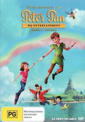 The New Adventures Of Peter Pan - Season 1 Volume 4 DVD R4 Brand New!