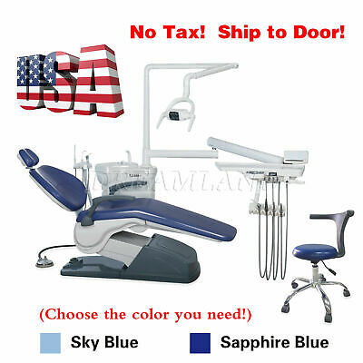 Dental Portable Turbine Unit 4Hole Work W/ Compressor + M4 High Speed Handpiece