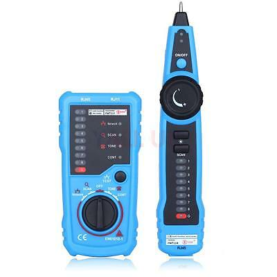 Network LAN Phone Telephone Cable Wire Line Tracker Tester Tracker RJ45 RJ11