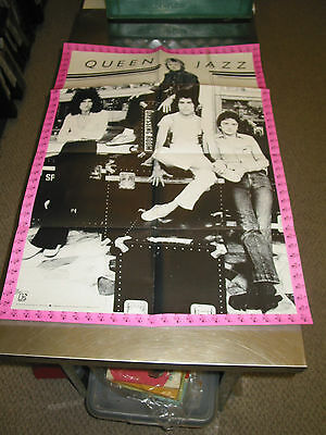 Queen- Jazz /orig. Elektra Records Promo Poster