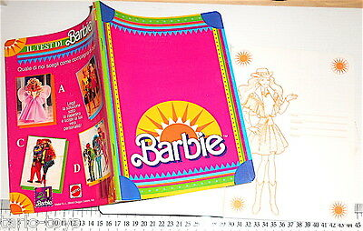 BARBIE 80s Mattel italy notebook school orange - quaderno scuola  fucsia