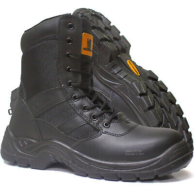 New Mens Tactical Steel Toe Cap Safety Work Security Boots Military Combat Shoes