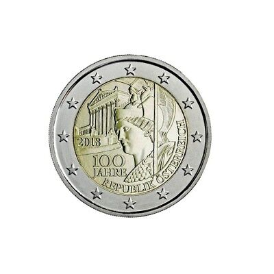 #Rm# 2 Euro Commemorative Autriche 2018 - Republique