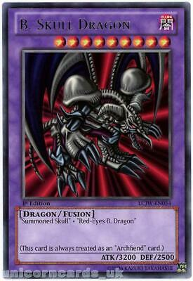 LCJW-EN054 B. Skull Dragon Rare 1st edition Mint YuGiOh Card