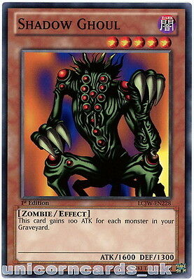 LCJW-EN228 Shadow Ghoul 1st Edition Mint YuGiOh Card