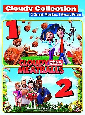 Cloudy with a Chance of Meatballs/Cloudy with a Chance of Meatballs 2 DVD, 2015