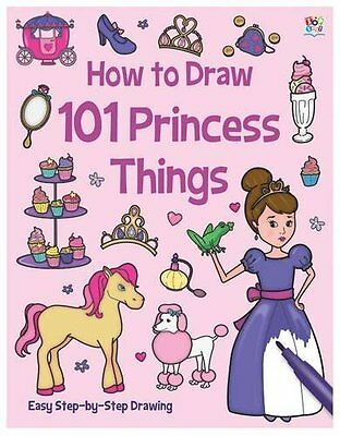 How To Draw 101 Princesa Things __ Nuevo __ Envío Gratuito Gb