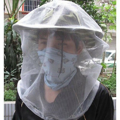 UK Bee Hornet Inset Veil Beekeeping Mosquitoes Fishing net storage Bag Forest