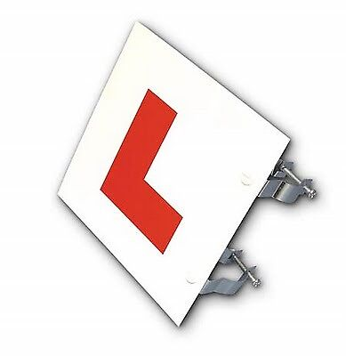 Motorcycle, Scooter L-Plate (Rigid, 2mm thick with fixing bracket)