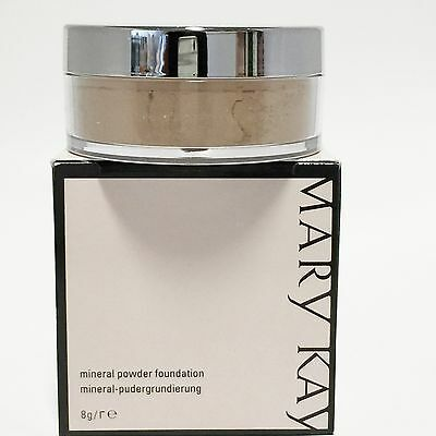 Mary Kay Mineral Powder Foundation Ivory, Beige, Bronze, 8 g. Neu