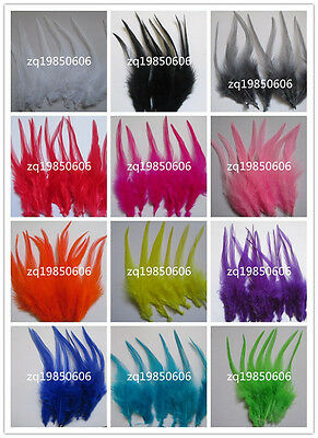 Beautiful 20 pcs /100 pcs rooster tail feathers 10-15 cm / 4-6 inch 15 Colors