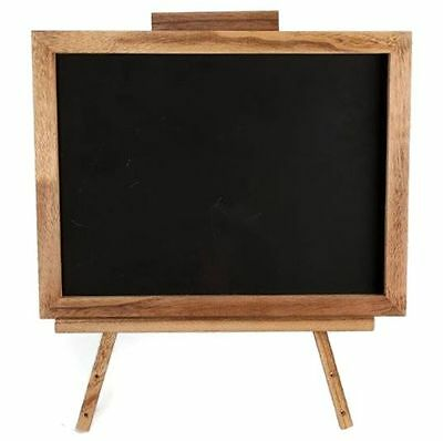 Wooden Easel Frame With Blackboard