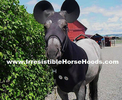 Large Mickey Mouse Lycra Horse Sleazy Costume, Ears & Tail Bag   * L