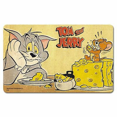 Tom & Jerry Eating Cheese Breakfast Cutting Board Formica Cartoon Retro Vintage