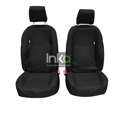 Land Rover Freelander 2 Front Inka Fully Tailored Waterproof Seat Covers Black