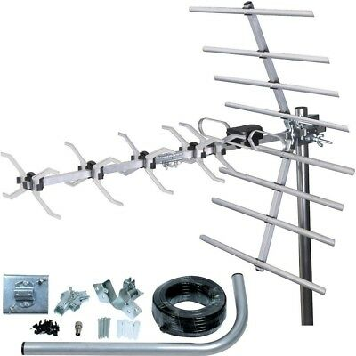 Philex SLX 4G Wideband Digital TV Aerial And Install Kit Freeview HD Loft/Roof