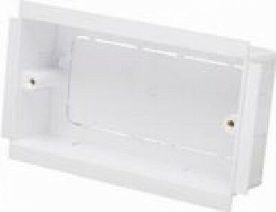Marco Cable Socket Mounting Box, 35mm Marco Cable 2 Gang