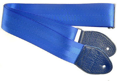 Souldier Recycled Seatbelt Blue Guitar Strap