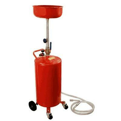 Troy 20 Gallon Auto Garage Air Oil Change Waste Drain Tank Tool - OLD20