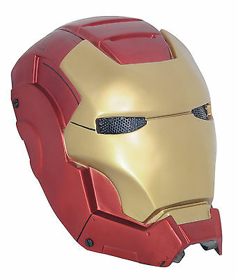 Adult  Red Iron Man Full Face Protection Mask For Paintball Airsoft War Game