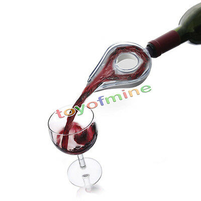 Portable Red Wine Aerator Bottle Topper Pourer Aerating Decanter Pour Filter