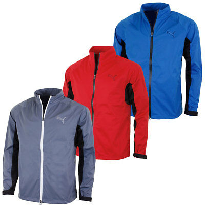 Puma Golf Mens 568308 Waterproof Rain Jacket StormCELL Full Zip Coat