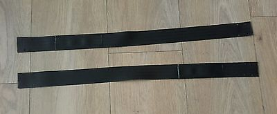 MGTF MGF HEATED REAR GLASS SCREEN SUPPORT STRAPS. (New Genuine MG)