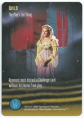 Star Trek: - The Card Game - Single Card - The Play's The Thing (Aqfz)