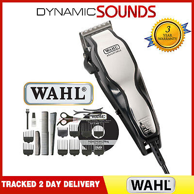 Wahl 79524-800 Mains Operated Chrome Pro Hair Clipper 25 Pcs Hair Cutting Kit