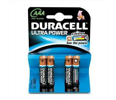 Pile - Batterie DURACELL - Mini Stilo Ultra Power - AAA - MX2400