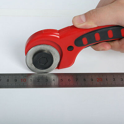 45mm Rotary Cutter Premium Quilters Comfort Grip Sewing Quilting Cutting Tool UK
