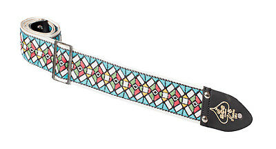 Ace Reissue Stained Glass Guitar Strap