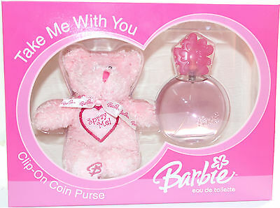 Barbie Teddy Bear 2 Pieces Set For Kid's New In A Box By Barbie