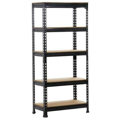 Heavy Duty Storage Rack 5 Level Adjustable Shelves Garage Steel Metal Shelf Unit