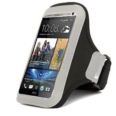 Premium Black Neoprene Workout GYM Armband case for Motorola Moto X Pure Edition